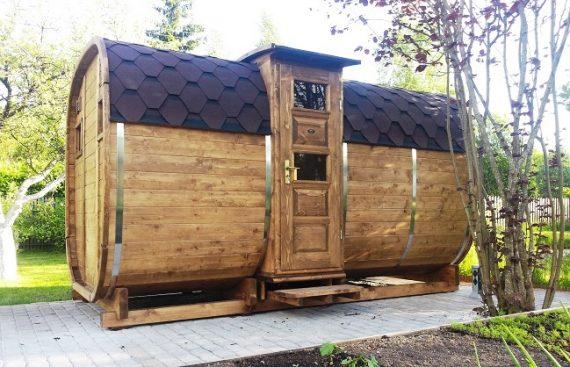 """UAB """"Lomeka"""" pirtis bačka pagaminta iš rinktinies medienos"""