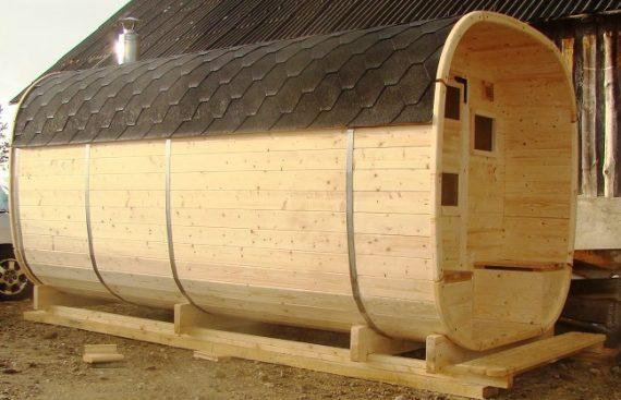 Pirtis bačka su stogeliu ir terasa